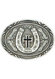 Horseshoe Cross Belt Buckle Children
