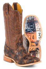 License To Thrill License Plates Sole Boot Mens Boots License To Thrill