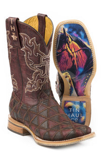 A Cute Angle Colorful Horse Sole Boot Womens Boots A Cute Angle