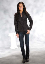 Tone On Tone Print Amarillo Collection- Majestic River Group- Ladies Women's Long Sleeve