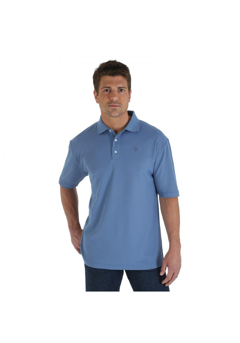 George Strait Performance Polo Shirt Men's Short Sleeve