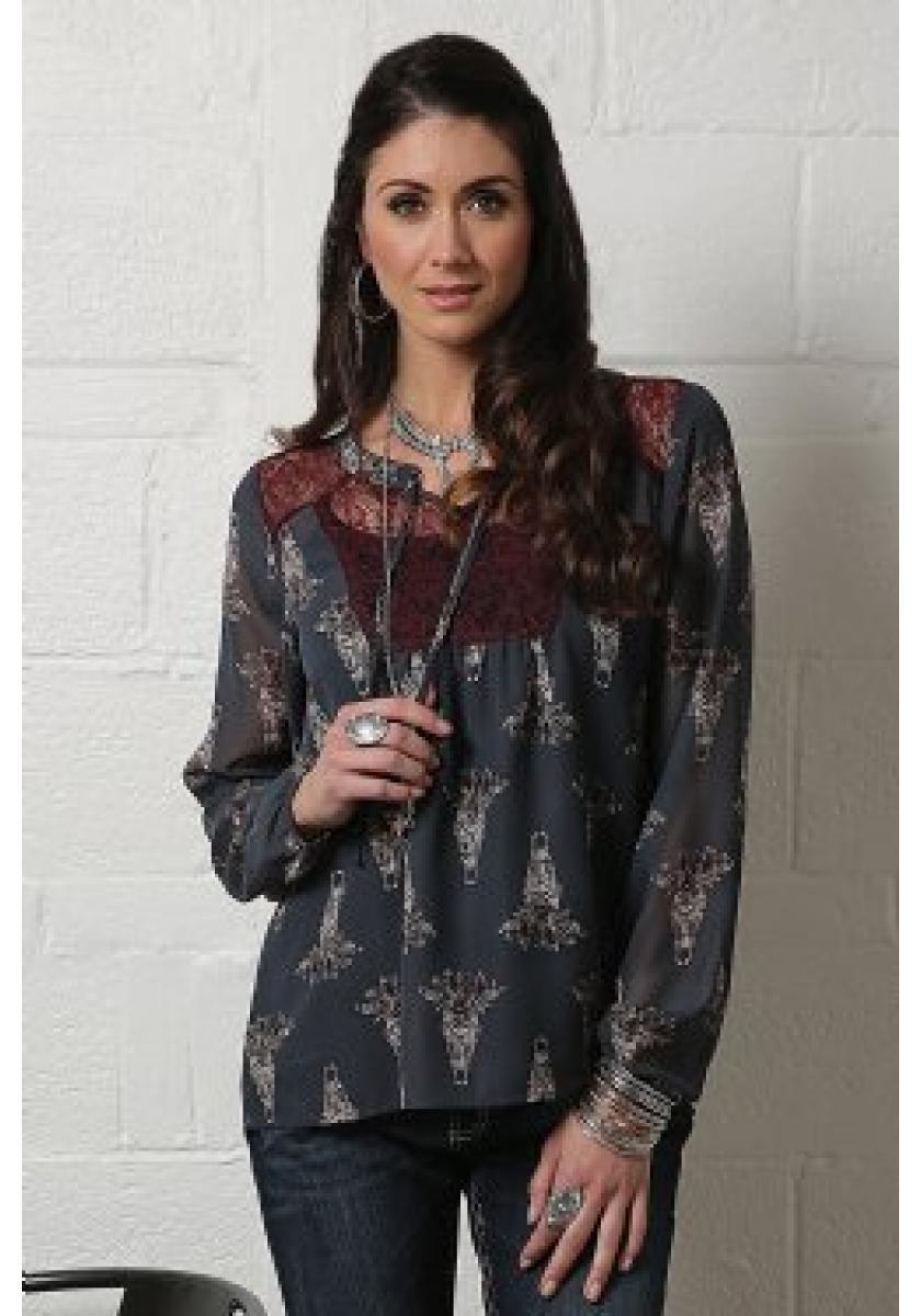 Long Sleeve Chiffon Women's Long Sleeve
