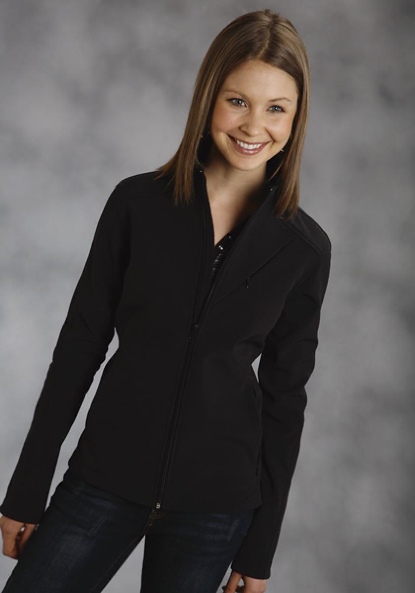Blpi Jacket Softshell With 1pkt Bk Roper Outerwear- Ladies Women's Outerwear