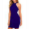 Halter Neck Sleeveless Dress
