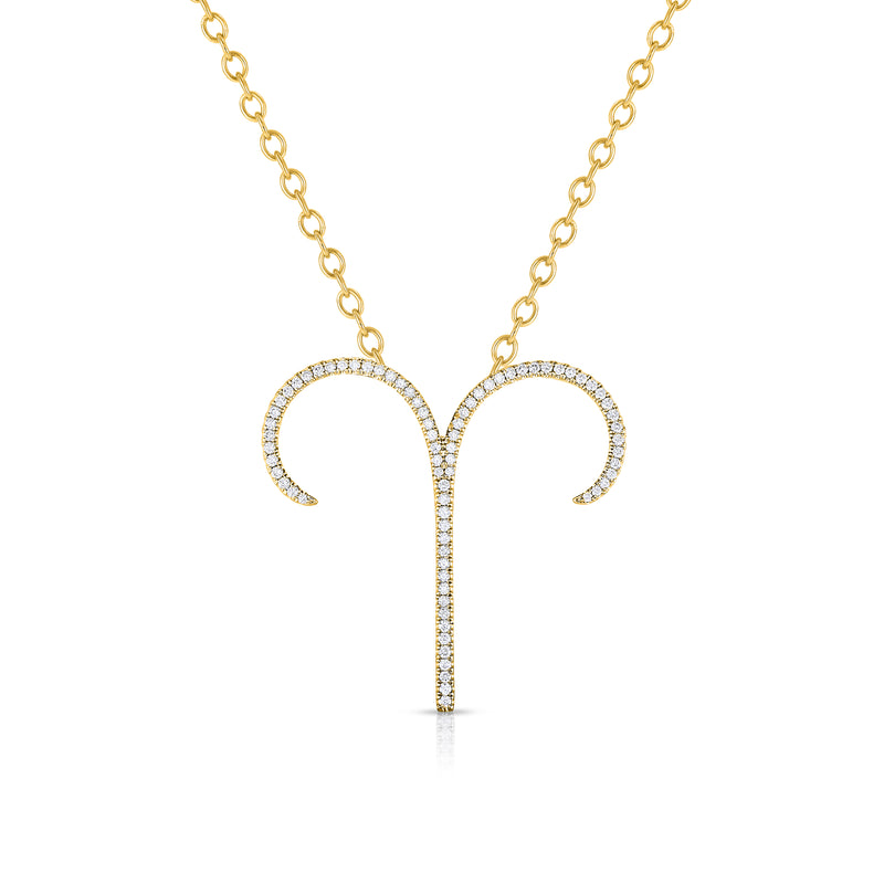 Aries - 14k Gold | Diamonds