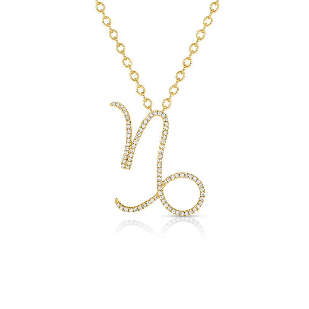 Capricorn - 14k Gold | Diamonds