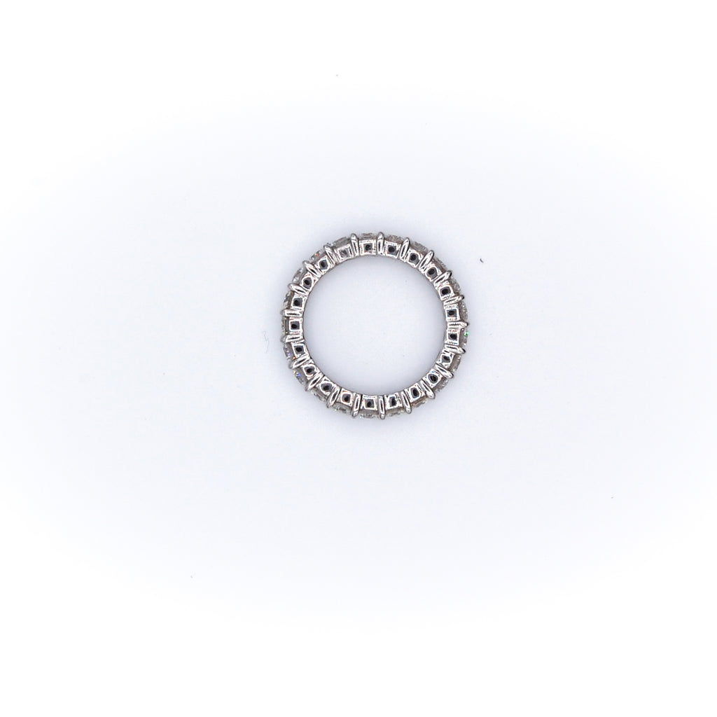 Shared Prong Eternity Ring