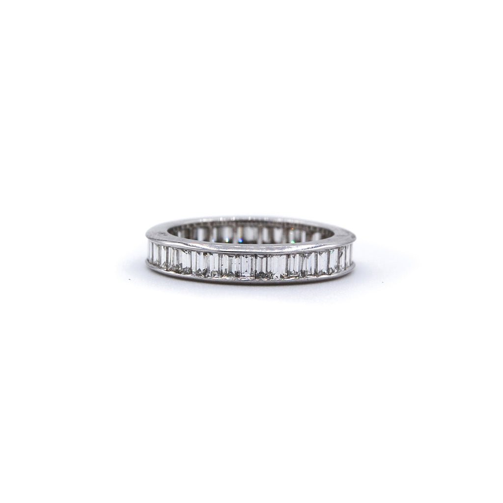 Platinum Baguette Ring