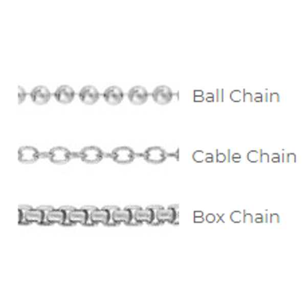 Ball, Cable, & Box Chain