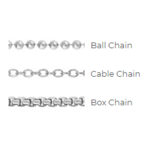 Double Heart Barrel Chain