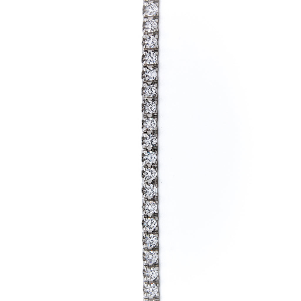 Diamond Line Tennis Bracelet