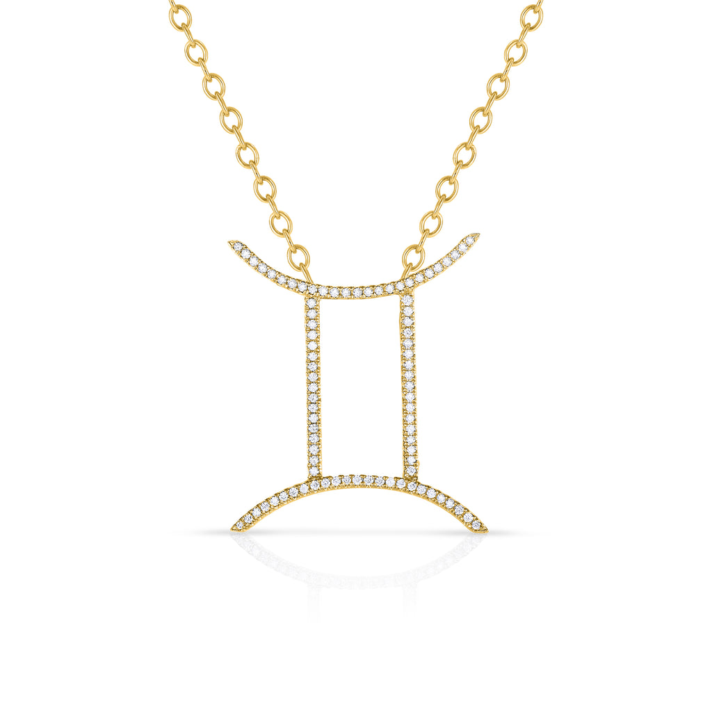Gemini - 14k Gold | Diamonds