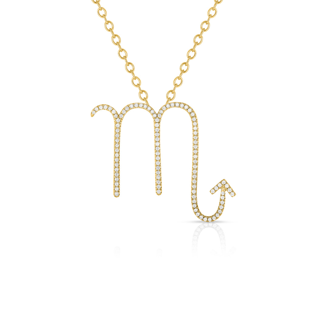 Scorpio - 14k Gold | Diamonds