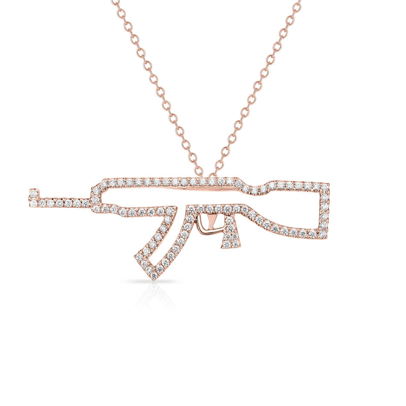 AK-47 - 14k Gold | Diamonds