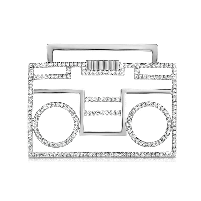 BOOMBOX - 14k Gold | Diamonds