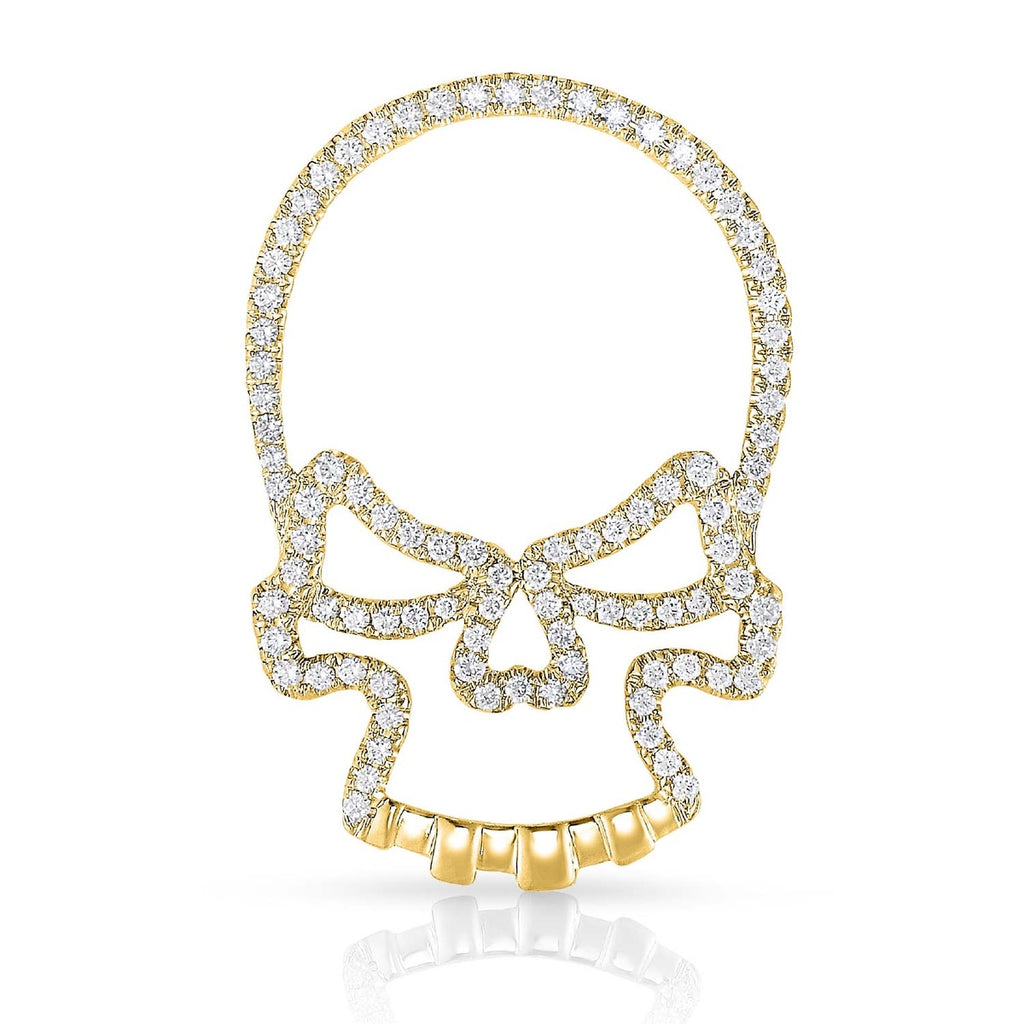 SINISTER SKULL - 14k Gold | Diamonds