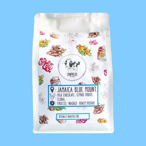 100% Jamaica Blue Mountain Coffee (250 Grams) - Singapore Cowpresso Coffee Roasters | Specialty Coffee Beans | Online Subscription | Freshly Delivered |