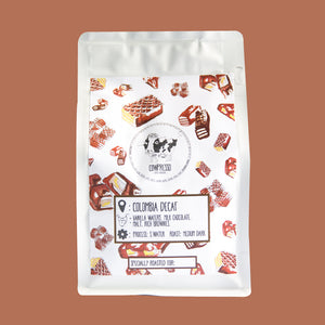 DECAF Colombia Maragogipe 250Gm - Singapore Cowpresso Coffee Roasters Specialty Coffee Bean Online Subscription Freshly Delivered