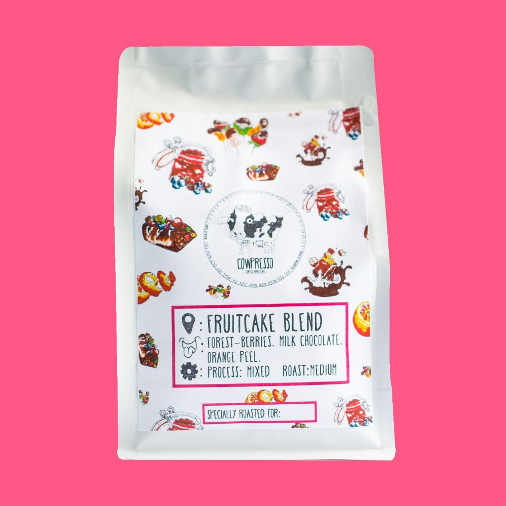 Fruitcake Blend (Seasonal) - Singapore Cowpresso Coffee Roasters | Specialty Coffee Beans | Online Subscription | Freshly Delivered |