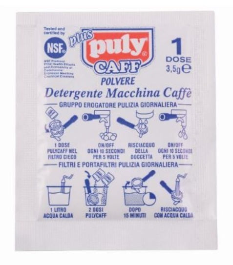 Puly Caff Detergent (12 Sachets) - Singapore Cowpresso Coffee Roasters Specialty Coffee Bean Online Subscription Freshly Delivered
