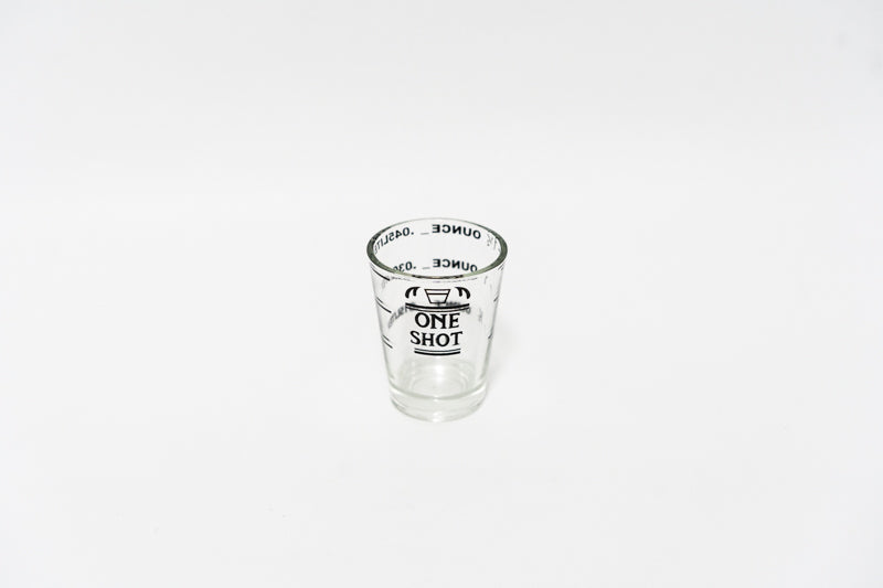 Measuring Shot Glass - Singapore Cowpresso Coffee Roasters Specialty Coffee Bean Online Subscription Freshly Delivered
