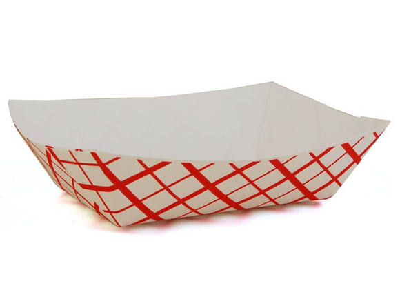 TRAY PAPER RED 2LBS REY-BU-7442-6521