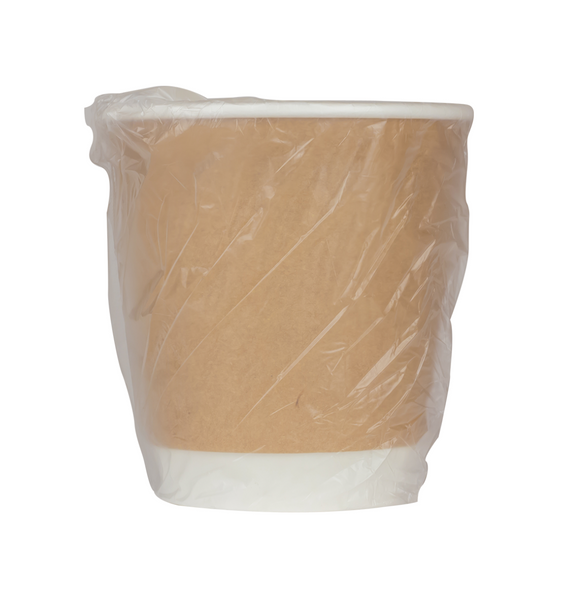 CUP PAPER HOT 10OZ WRAPPED HS-LO-510K TX