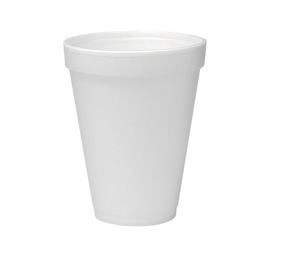 Cup Foam White 12oz SN-DI-12J12 (Employee/Kids)