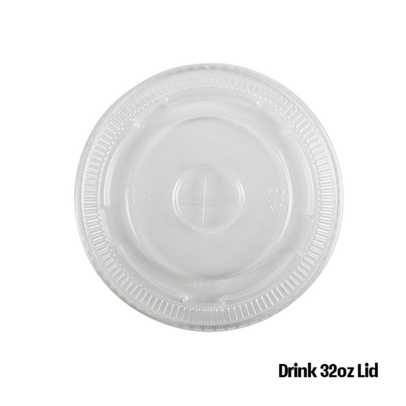 Lid Pet Flat 32oz SN-LO-CKCL1045 (Lid Drink 32oz)