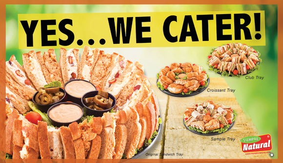Yes, We cater! Vinyl