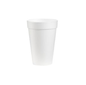 CUP FOAM WHITE 12oz ELCS-DI-12J12