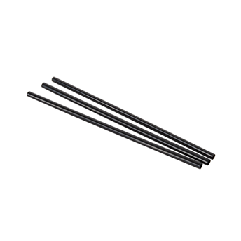 STRAWS BLACK UNWRAPPED 5.75