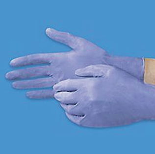 GLOVES NITRILE BLUE M KU-AM-1027VSEINM