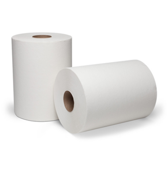 TOWEL WHITE 6 ROLLS BU-H7330007