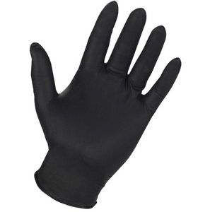 GLOVES NITRILE BLACK L 3.5 MIL LU-PH-1295