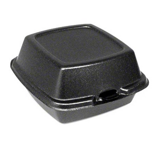 CONT FOAM BLACK HAMBURGER MO-SC-DU401199
