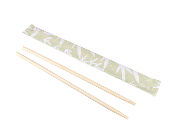 BAMBOO CHOPSTICKS WRAPPED 9