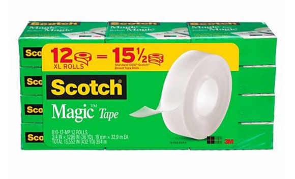 TAPE CLEAR SCOTCH CM-SA-436672 TX
