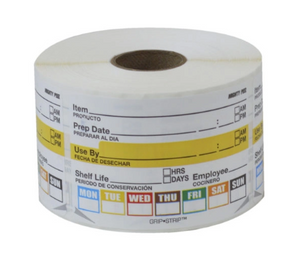DISPOSABLES LABEL 2x3 DURAPEEL SC-BU-49200227