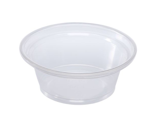 PORTION CUP 1oz CLEAR SQUAT KUR-LO-FPP100PP