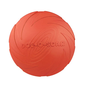 Pet Dog Rubber Material  Frisbee Toy
