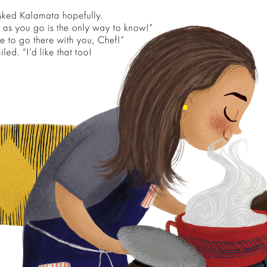 Kalamata's First Adventure Book
