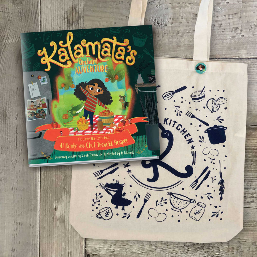 Little Shopper Bundle: Book + Tote