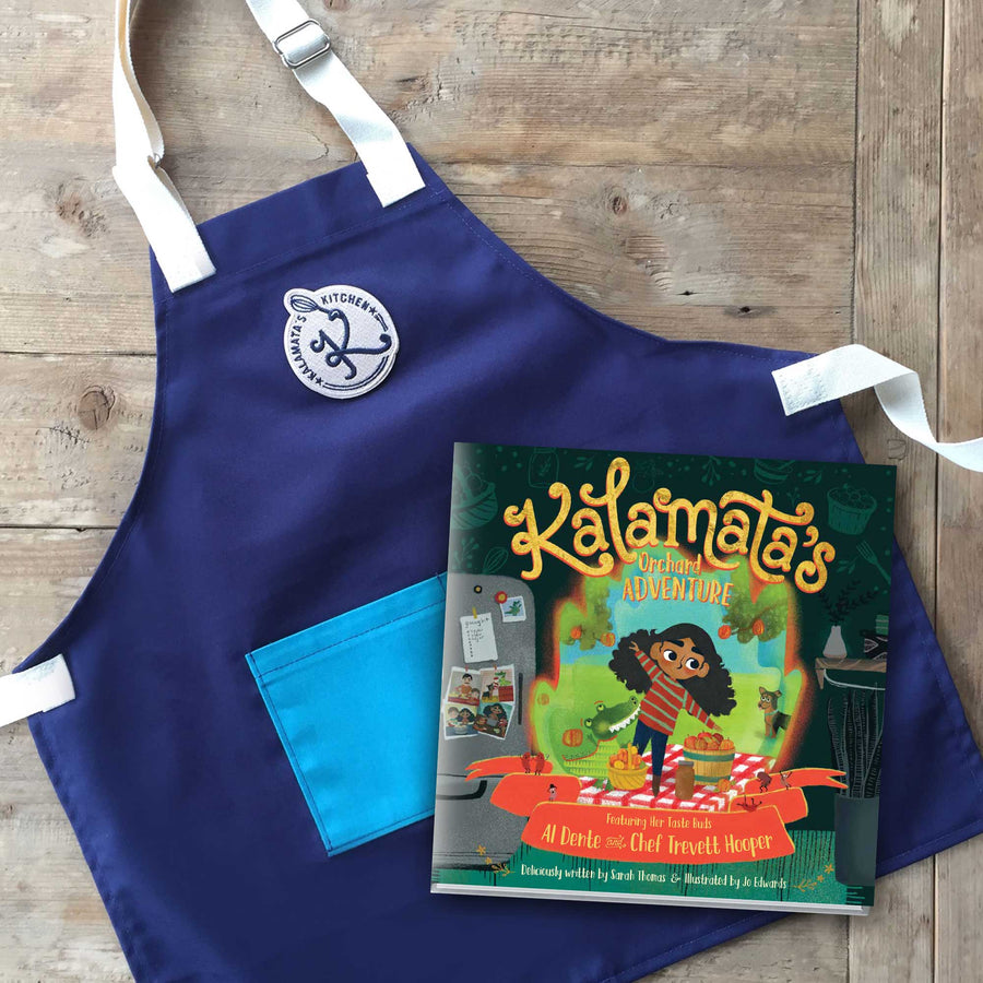 Kitchen-Ready Pack: Book + Apron