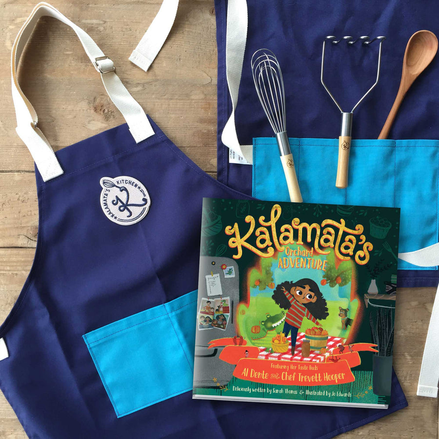 Official Chef Pack: Book + Chef's Roll + Apron + Tools