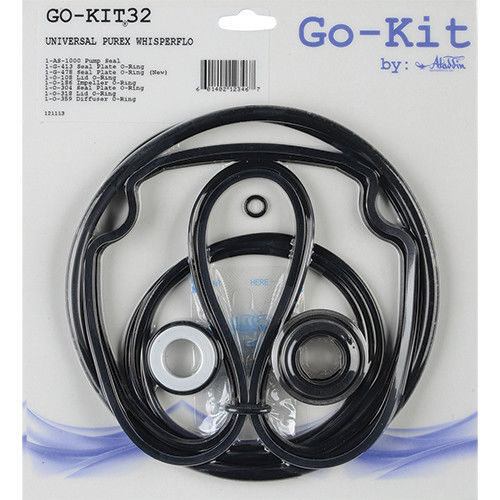 Pentair WhisperFlo-IntelliFlo,  Aladdin Go-Kit32 Repair O-Ring Kit