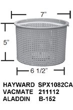 Aladdin B-152 Skimmer Basket Replaces Hayward SPX1082CA, B152, SP1082