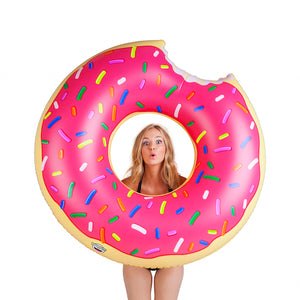 The Giant Donut Pool Float