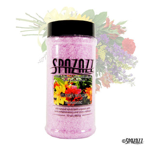 Spazazz Original Fresh Cut Flowers [Flora Wood] (Romantic) Crystals 17oz Container