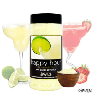 Spazazz Margarita Happy Hour Crystals 17oz Container